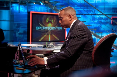 ESPN Anchor Jay Harris