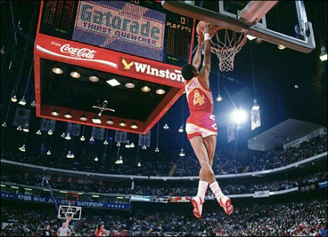 Spud Webb, Dunks At 47 Years Old