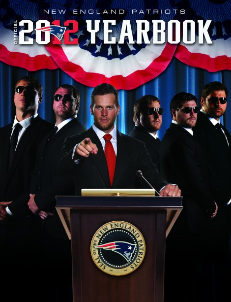 New England Patriots 2012 Yearbook Cover