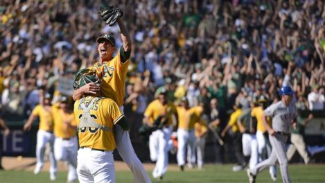 Oakland A's, AL West Champs