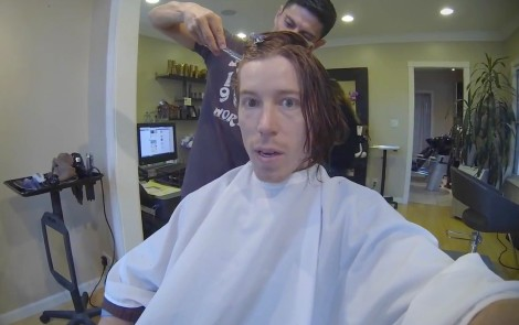Shaun White, Haircut