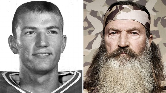 Check Out Duck Dynasty's Phil Robertson During His College Football