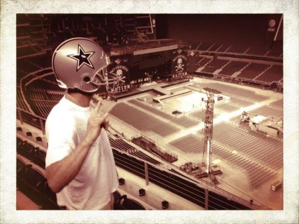 Kenny Chesney, Dallas Cowboys