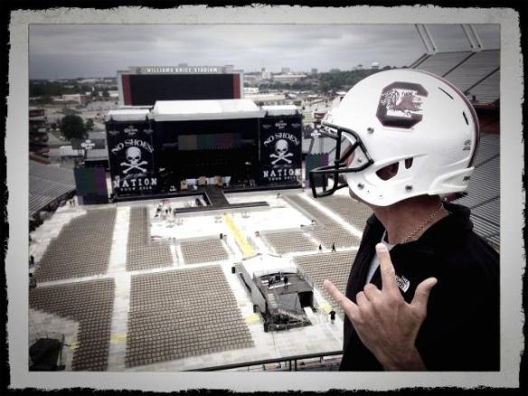 Kenny Chesney, Gamecocks Helmet