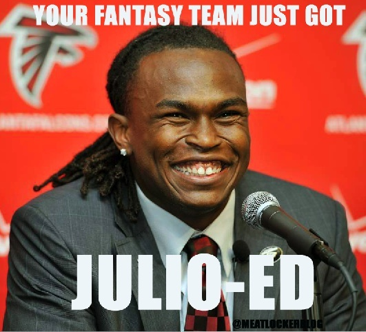 Julio-Ed, Falcons, Julio Jones